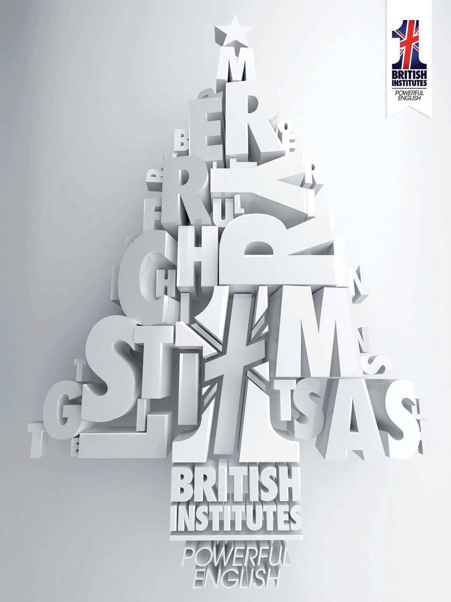 British Institutes Roma EUR albero natale