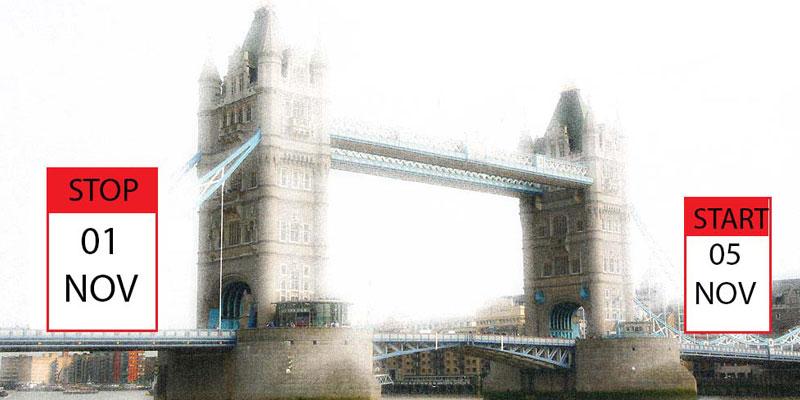 British Institutes Roma EUR chiusura ponte morti 2012