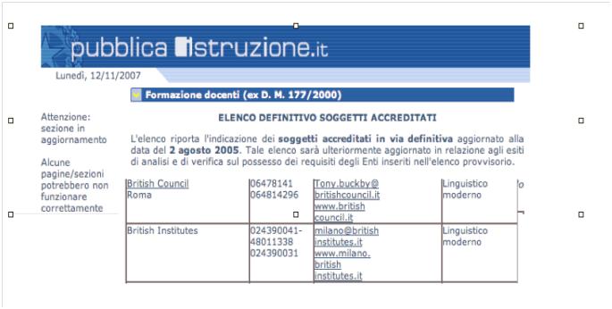 Corsi inglese riconosciuti dal Ministero Pubblica amministrazione e del lavoro British Institutes Roma Eur