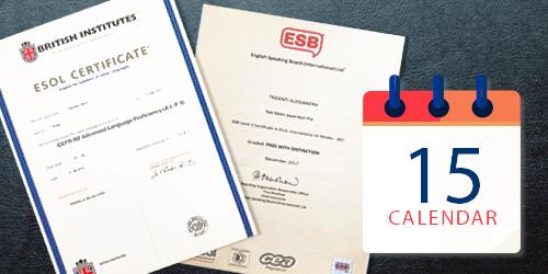 Calendario esami di certificazione B2 C1 C2 A1 KET PET FIRST CAE IELTS PEARSON ESB