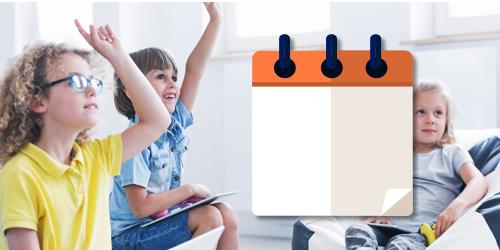 calendario dei corsi di inglese per bambini
