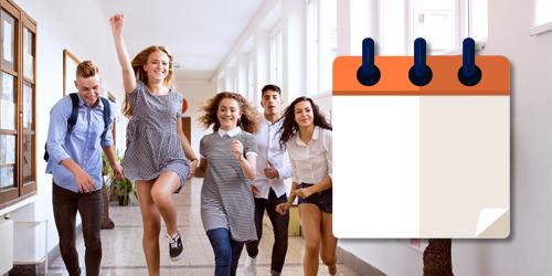 calendario dei corsi di inglese per ragazzi e teenagers