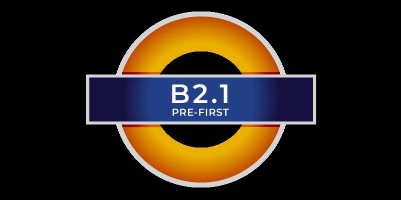 YL B2.1 PRE-FIRST corsi di inglese