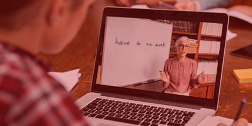 corsi di Inglese in diretta in videolezioni streaming videoconferenza