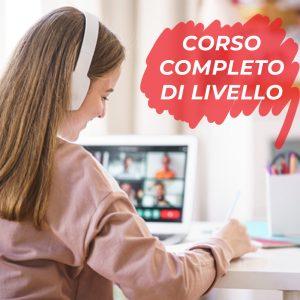 Corso di inglese online per ragazzi completo