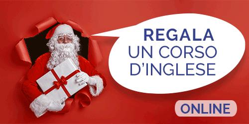 Regalo di Natale, regala un corso di inglese online